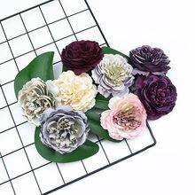 5 шт декоративные цветы пиона в стиле ретро