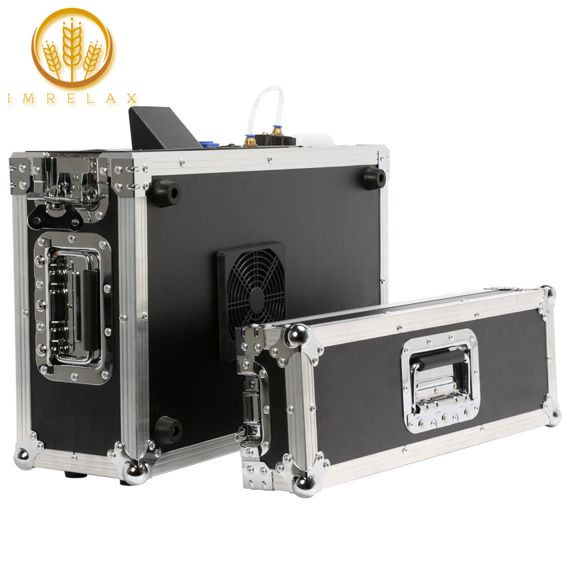 Just Imrelax New Heating System 900w Stage Mist Haze Machine With Dmx Control Flight Case Package Stage Lighting Effect Hazer