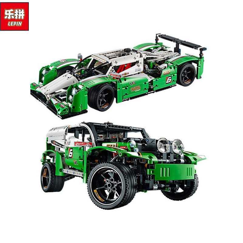 IN STOCK NEW 1249PCS LEPIN 20003 Technic Series The 24 hours Race Car Building Assembled Blocks Bricks Enlighten Toy 42039