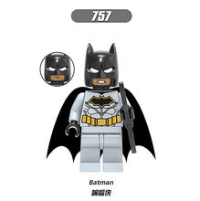 1PCS Face Change Batman Cartoon Comic Cartoon Movable ABS Mini Doll Baby Dolls Action Figure Toys Kids Gift Boys Girls Children(China)