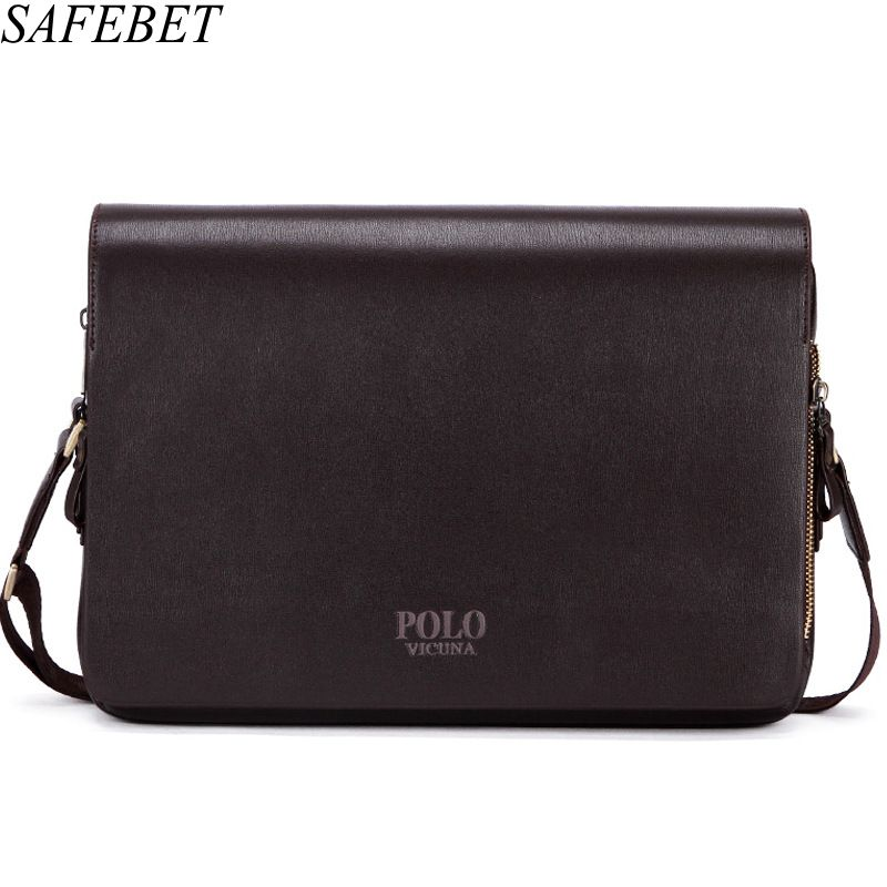 SAFEBET Brand High Quality PU Leather Men Bag Men Messenger Bag Shoulder Crossbody Bags for Man Handbag Casual Men's Leather Bag safebet brand crocodile pattern fashion men shoulder bags high quality pu leather casual messenger bag business men s travel bag