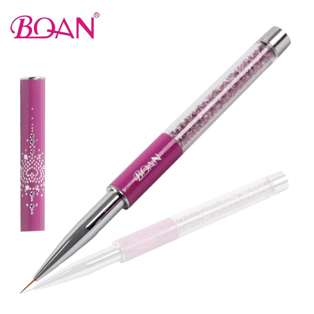 Nail Art Brush: BQAN Hot Selling Salon And Home Use 10mm Nail Art Striper