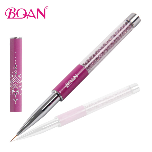 Bqan Hot Selling Salon And Home Use 10mm Nail Art Striper Brush For
