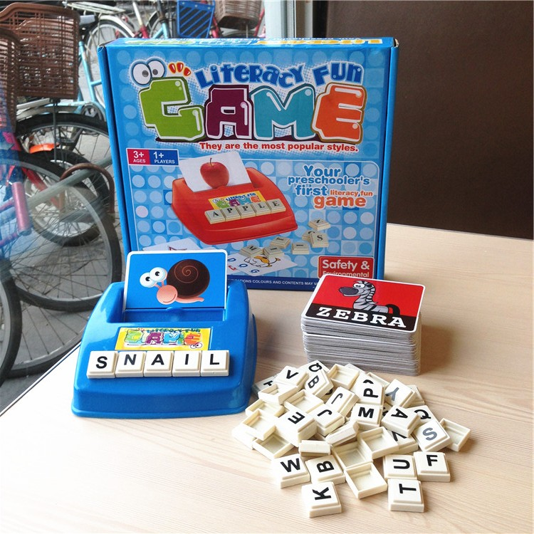 Free game desk toy children educational toys play Kids word game online learn english ABC letter ...