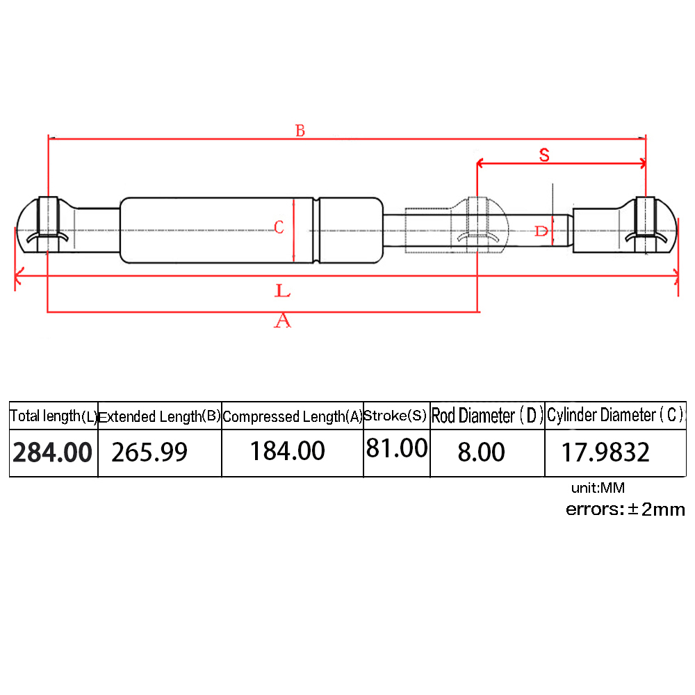2x Trunk Lift Support shocks struts Fit Nissan 350Z 2003 2008 SG425005 in Shock Absorber Struts from Automobiles Motorcycles