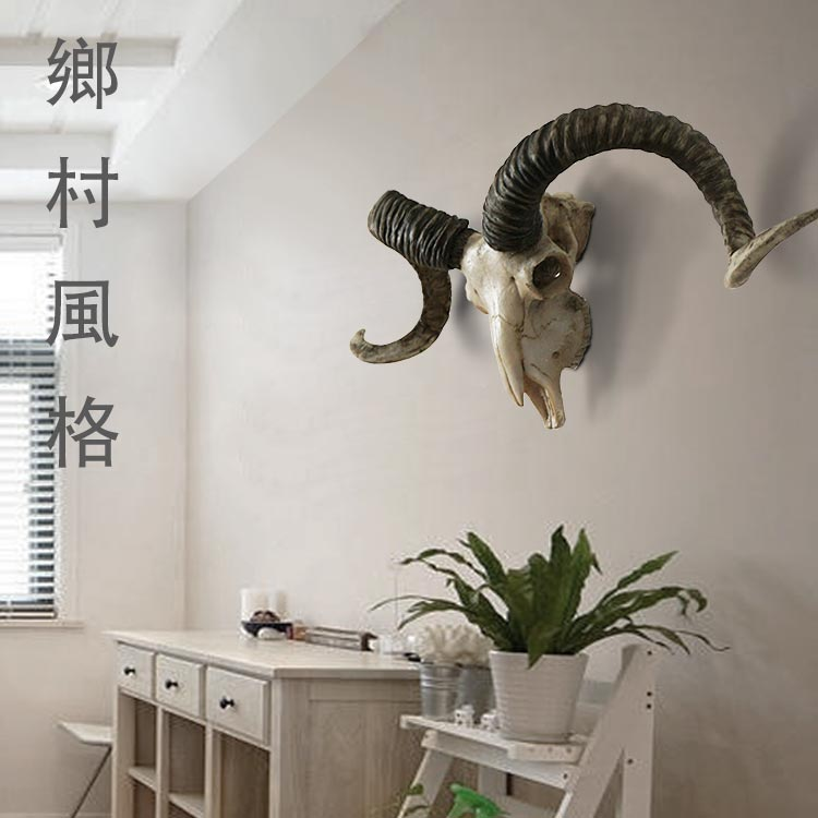 Goat Skull Home Decor Resin Cabochon Decoration Accessories In Statues Sculptures From Garden On Aliexpress