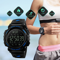 Trendy Brand SKMEI 1303 Men S Smart Watch Bluetooth Multifunction Calorie Pedometer Military Clock Sports Calories