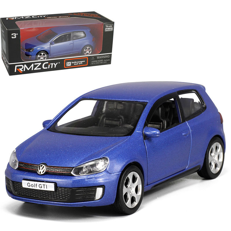 UNI-FORTUNE pull back car 1/36 VW Golf GTI MK6 alloy models model car childrens toys car Kids toy
