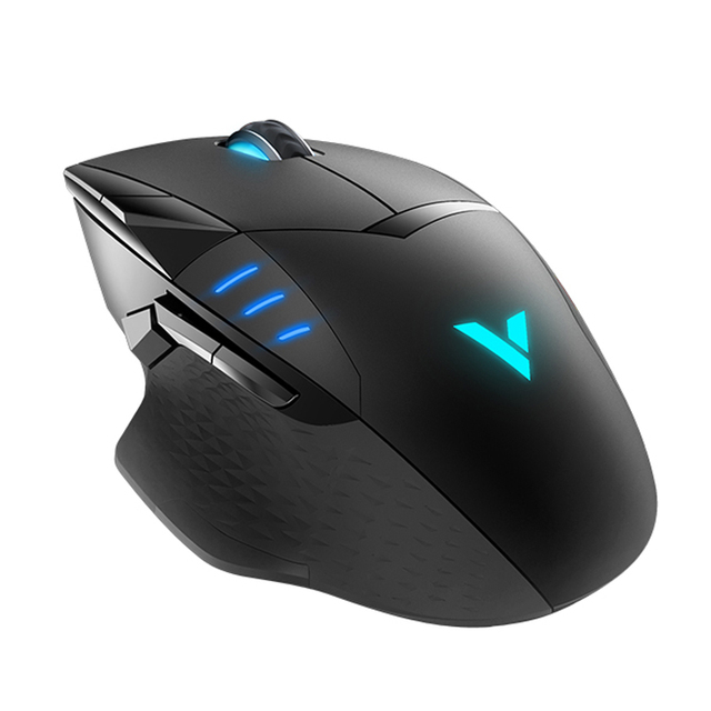 Rapoo IR Optical Wired Gaming Mouse 6200DPI 10 Programmable Buttons Computer Gamer Mouse 16M Color Magic RGB light Game Mouse