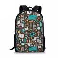 Химический Школьный рюкзак  Женская Повседневная сумка  Детская сумка для книг  школьная сумка для девочек  женские сумки на плечо  туристич...