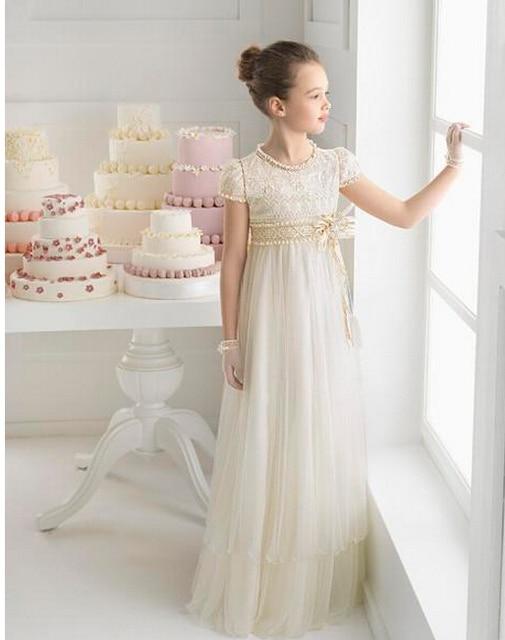 Princess flower girl dresses cheap