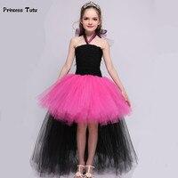 Rockstar Queen Children Girl Tutu Dress Princess Halloween Costume For Kids Cosplay Birthday Gift Funking Tulle