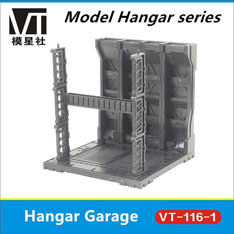 US $9 5 5% OFF|Universal HANGAR garage frontline base scene VT 116 for  Bandai Gundam free combination DM017-in Action & Toy Figures from Toys &