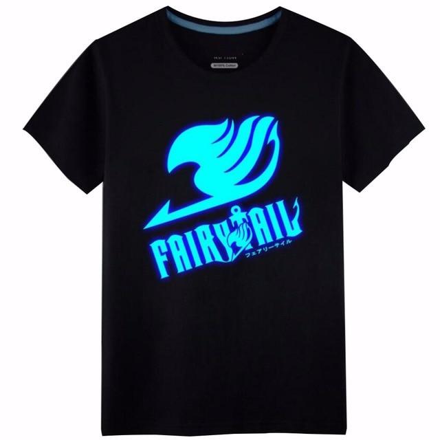 Fairy Tail Lucy Heartfilia natsu Luminous cosplay costume cotton freedom wings tshirt tee