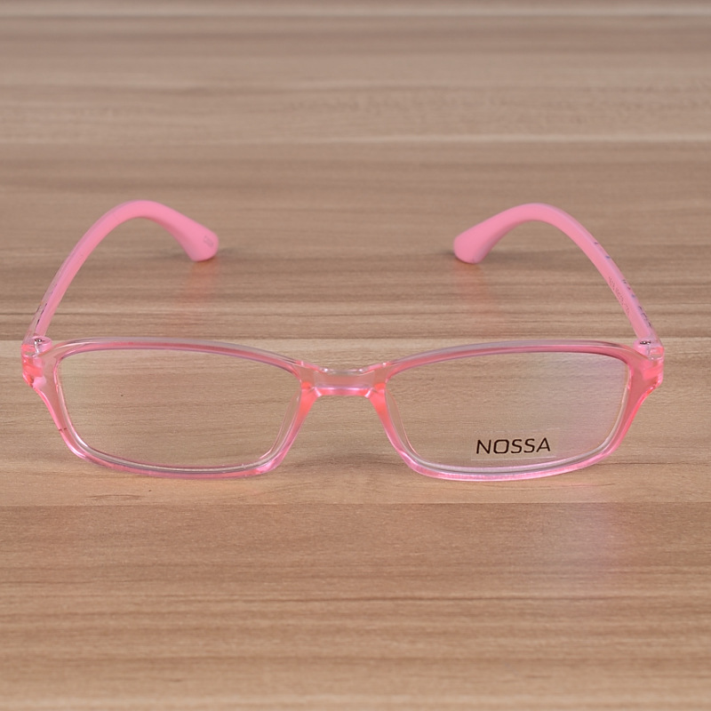 b9a1f4bb0c Kids Candy Colors Plain Glasses Frame With Clear Lens Optical ...