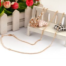 Women Sweater Pendent Chain Necklace Rhinestones Jewelry Ball Cage for Pregnant Crystal Long Pendant Necklace Clothing Accessory(China)