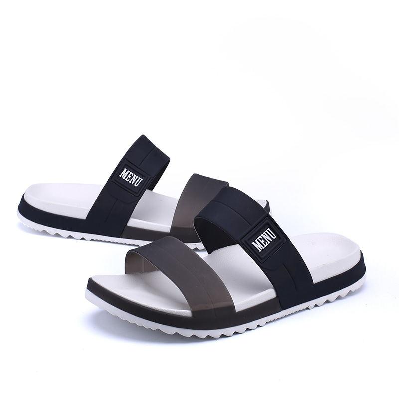 LAISUMK Summer Beach Men Slippers Casual Shoes Double Buckle Man Slip on Flip Flops Flats Camouflage Flip Flop Indoor & Outdoor 74