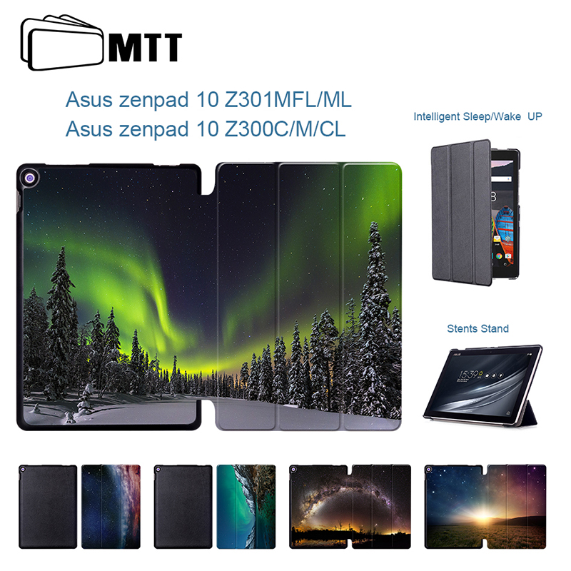 For Asus Z301 Z301MFL Z301ML Aurora Meteor Smart Leather Case For ASUS Zenpad 10 Z300C Z300CL Z300CG 10.1 Tablet PC Stand Case keyboard withtouch panel for asus zenpad 10 z300c z300cl z300cg tablet pc for asus zenpad 10 z300c z300cl z300cg keyboard