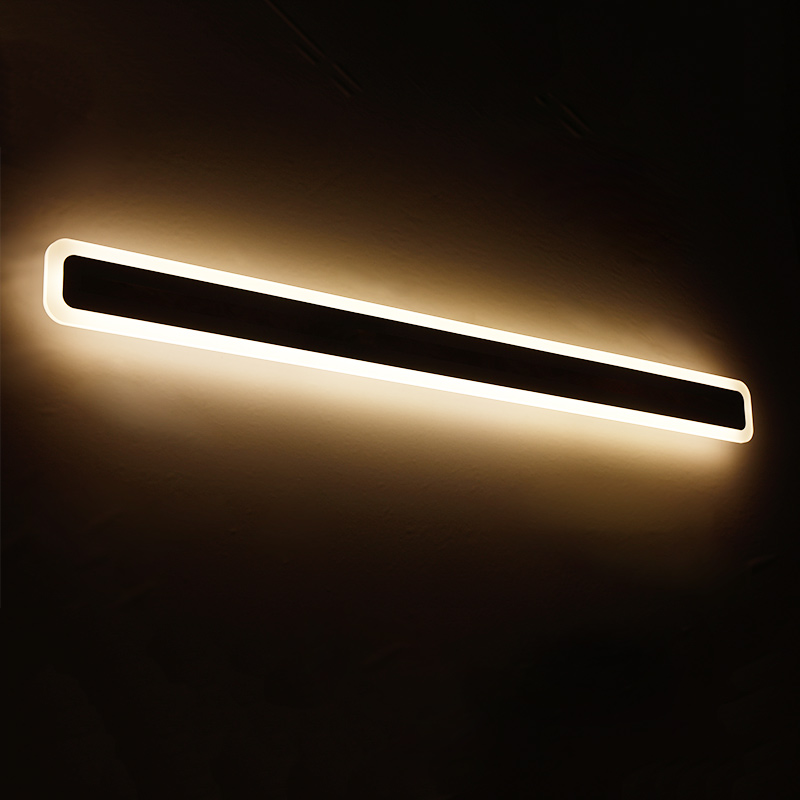 2017 LICAN bathroom toilet LED front mirror lights bathroom acrylic mirror lights Bedroom 0.4m-1.2m 8W-24W AC85-265V Sconce lamp