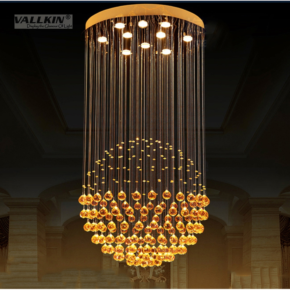 Us 346 1 28 offluxury modern chandelier lights k9 crystal chandeliers lustres de cristal living room lamp home light fixtures chandeliers light in