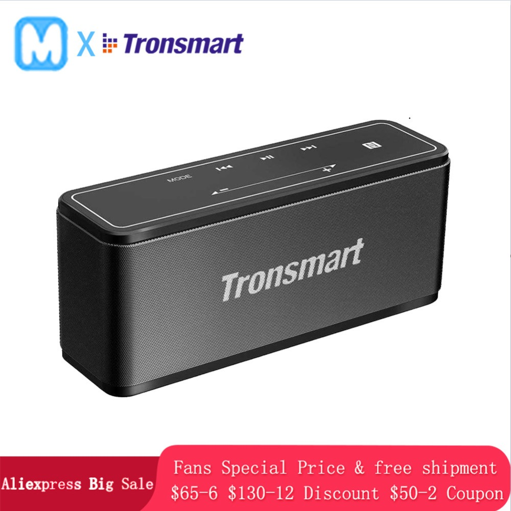 Tronsmart Element Mega Bluetooth Speaker Wireless Speaker 3D Digital Sound TWS Output NFC 20m Portable Speaker