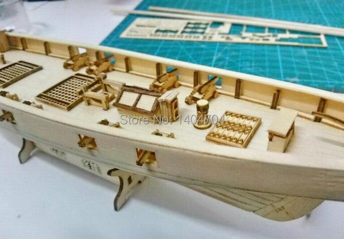 Aliexpress Com Buy Laser Cut Wooden Sailboat Model Kit
