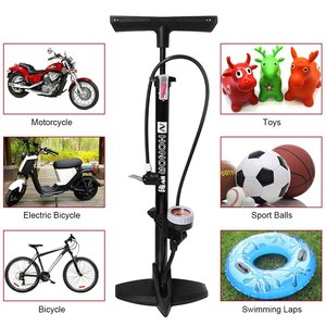 Image 2 - Lixada Bicycle Pump 160PSI MTB Road Floor Pump firm Fast Safe Inflating Valve co2 Tire Inflation Foot Pump bicycle accessories