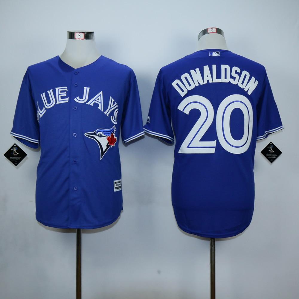 sports shoes cc590 f8cc9 Cheap Toronto Blue Jays Jersey 20 Josh Donaldson Jersey Cool ...