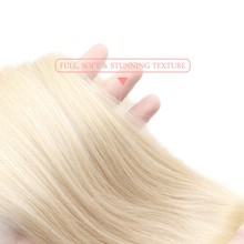 Malaysian 613 Color Blonde Bundle Straight 100% Human Remy Hair Weaving Extensions 1 PCS Ali Queen Addbeauty For Salon 8-30 Inch