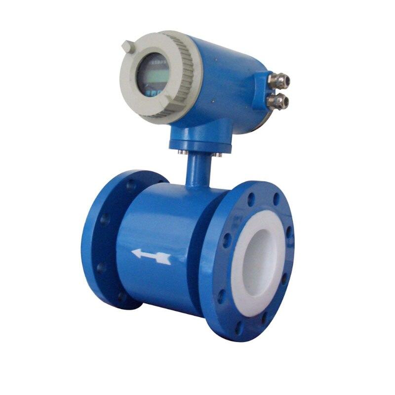 Electromagnetic Flow Meter Water Flow Meter Flow Range 0.6~12 M3/h Diameter Of Sensor DN10~ DN600