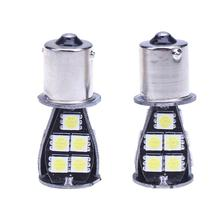 2pcs/set COB 18SMD Car LED Stoplight Bulbs Auto Truck Brake Lights Cornering Auto Reverse Lamp Daytime Running Light Promotion