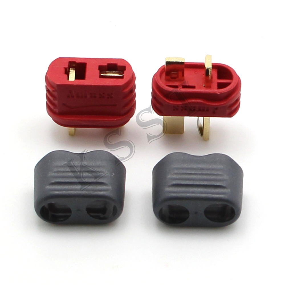 10 Pairs T Plug Deans Connector With Sheath Housing For RC Lipo Battery цена