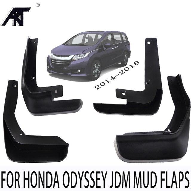 Set Molded Mud Flaps For Honda Odyssey Jdm  2017 2018 Mudflaps Splash Guards