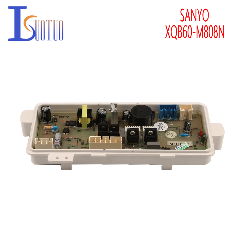 Original SANYO Washing Machine Board XQB60-M808N Washer Computer Board XQB60-M808N(OBSH) original sanyo washing machine board xqb60 m808n computer board xqb60 m808n obsh