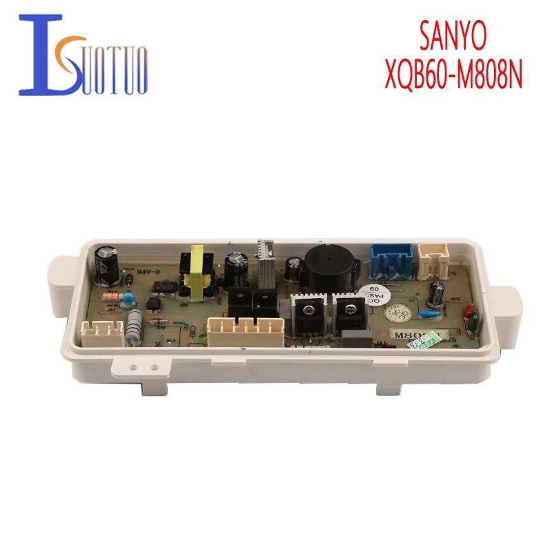 Original SANYO Washing Machine Board XQB60-M808N Washer Computer Board XQB60-M808N(OBSH) haier washing machine brand new computer board xqb60 10 xqb56 10 xqb60 10dz xqb60 10a