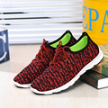 Hot Unisex Lovers Casual Shoes Top Air Mesh Loafers Shoe For Men 2017 Male Red Color Oxfords Footwear Shoe