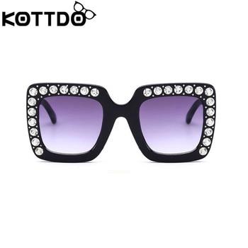 KOTTDO luxury Rhinestone Kids Sunglasses...