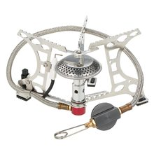 OUT-D Potable Outdoor Camping Stove Gas Hiking Trekking Picnic Butane Burners BBQ Grill Cookware