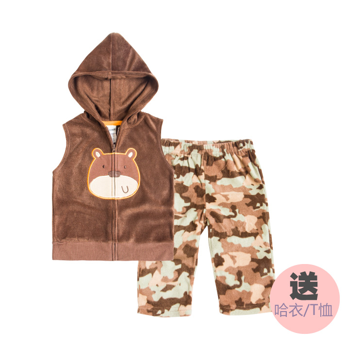 Smart Luxury Free Shipping Baby spring suit Fleece Vest Jacket boy child vest fashion baby clothes