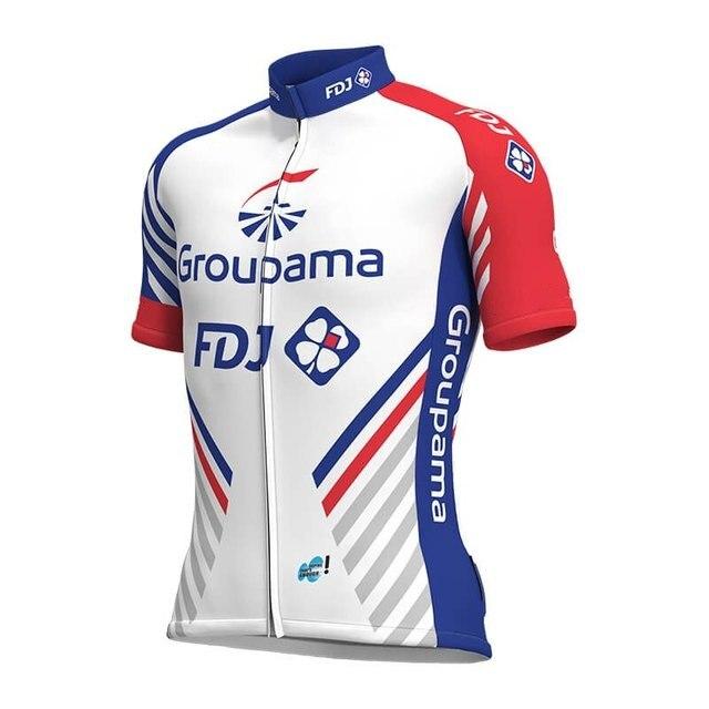 2018 new Pro team groupama FDJ cycling jerseys Bicycle maillot breathable  Ropa Ciclismo MTB Short sleeve 8f9c1b0e7