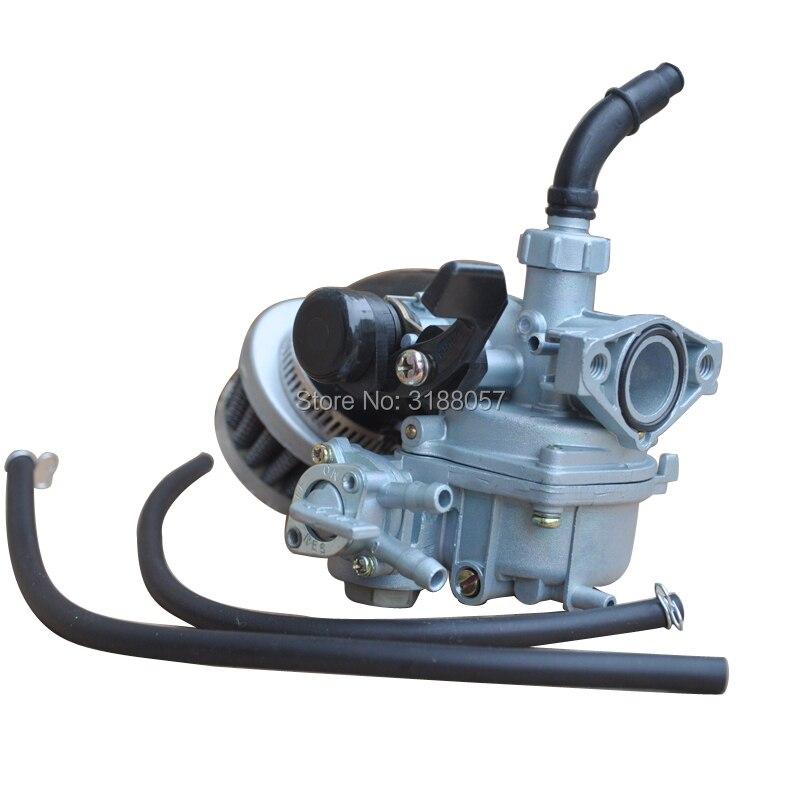 Carburetor /& Air Filter For Honda ATC70 Hand Choke 1978-1985