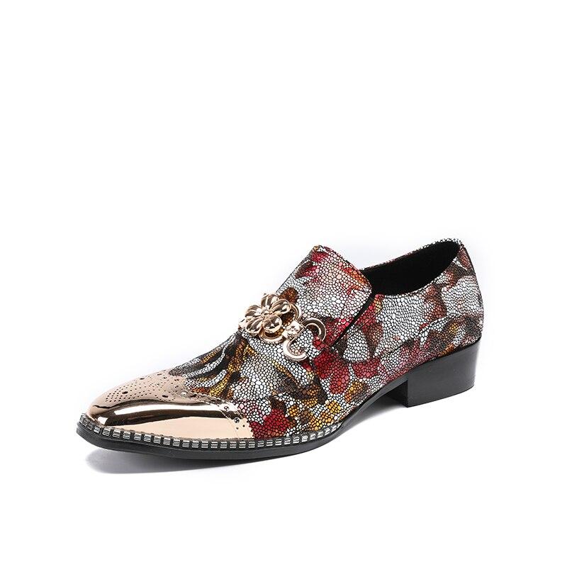 British style Brand Classic men's Oxfords shoes mens Dress Business shoes flats 100% genuine leather shoes british style shoes fs british style 100