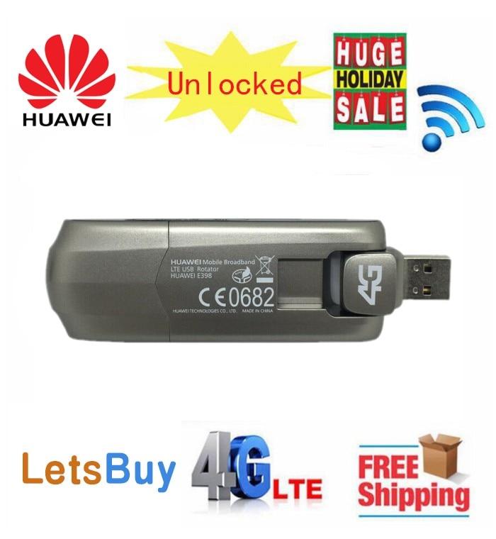 Débloqué nouveau Huawei E398 E398u-15 avec antenne 4G LTE Modem USB 4G Modem 4G clé USB Dongle Mobile haut débit PK E3372