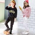 Usar Calças Casuais Primavera E No Outono 2016 Crianças Calças Esportivas Calças Dos Meninos E Meninas De Algodão Rendas Roupas de Marca infantil