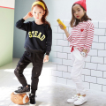 Wear Casual Pants Spring And Autumn 2016 Children Sports Pants Boys And Girls Cotton Lace Trousers Brand Children's Clothing