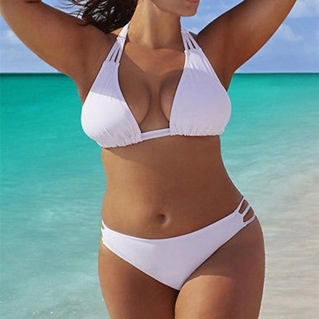 Low Waist Push Up Big Size Swimsuit
