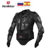 HEROBIKER Motorcycle Armor Protective Gear Motorcycle Jacket Body Armor Racing Moto Jacket Motocross Clothing Protector Guard
