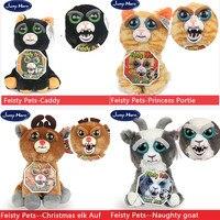חיות מחמד על ידי WMC נמרץ מקורי מתנות יום הולדת לילדים צעצועי בדיחות מתנות חנון טריקים חידוש מצחיק בדיחה prank חיות פרווה