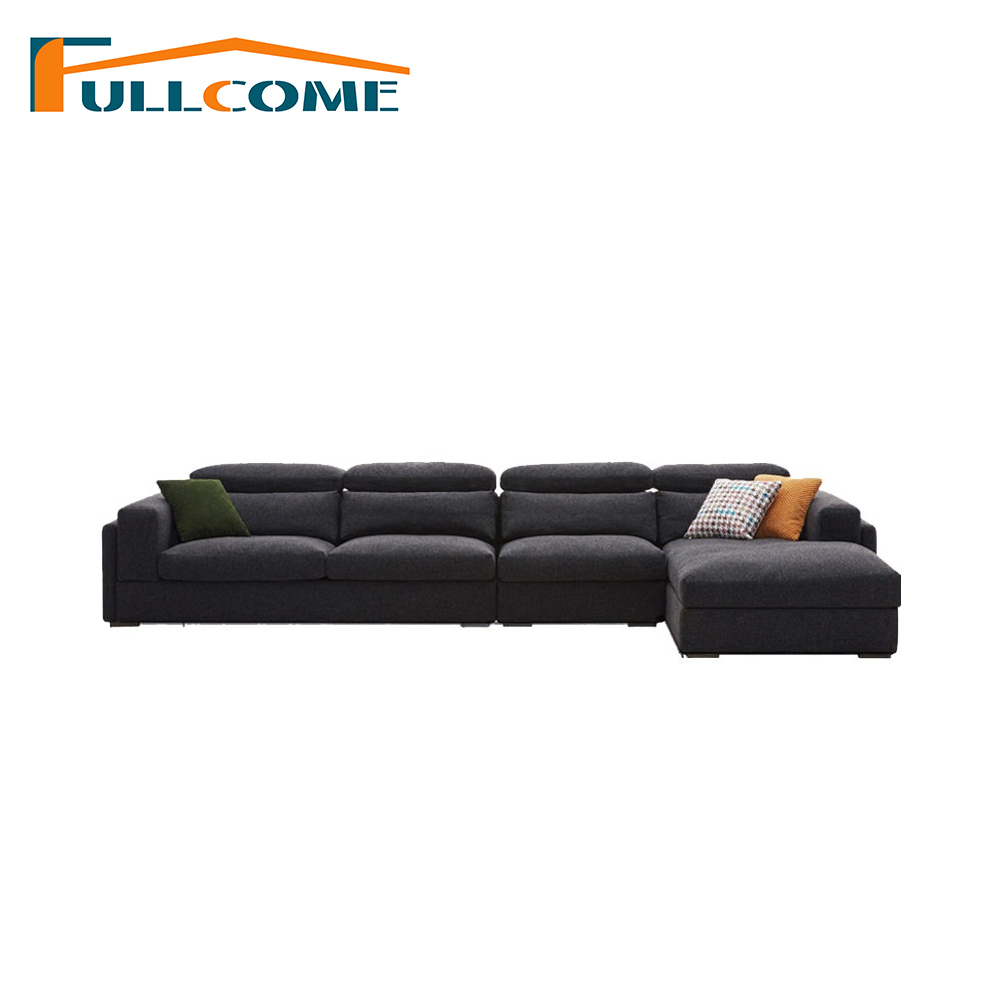 China Luxury Home Furniture Modern Fabric Scandinavian Sofa Set Living Room Furniture Feather Italian Corner Sectional Sofas circular arc sofa half round furniture healthy pe rattan garden furniture sofa set luxury garden outdoor furniture sofas hfa086