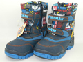 2017 niños Botas de Nieve Niño de Algodón acolchado Zapatos antideslizantes Impermeables fireman sam Engrosamiento Botas de Invierno El Envío Libre